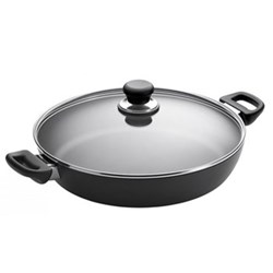 Classic Chef pan with lid, 32cm, ceramic titanium