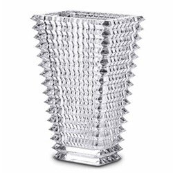 Eye Rectangular vase, 30cm, clear