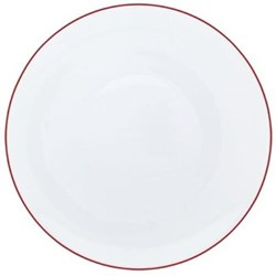Monceau Couleurs Dinner plate, 27cm, vermilion red