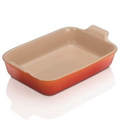 Stoneware - Heritage Rectangular dish, 32 x 28 x 6.5cm - 3.85 litre, volcanic