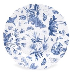 Botanic Blue Set of 4 dessert plates, 21cm