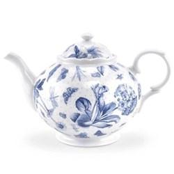 Botanic Blue Teapot, 85cl