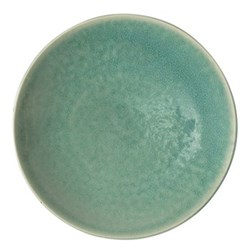 Tourron Pair of presentation plates, 31cm, jade