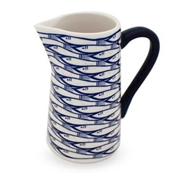 Sardine Run Small jug, H12.5cm - 25cl