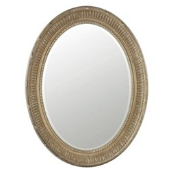 Oval mirror H86 x W66cm