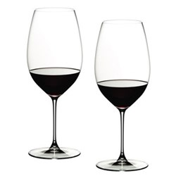 Veritas Pair of new world shiraz glasses, H24.6 x D9.5cm - 65cl