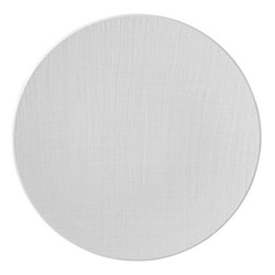 Organza Set of 6 service plates, 29.5cm, white