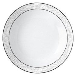 Dune Coupe soup plate, platinum