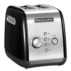 Classic 2 slot toaster, onyx black