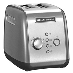 5KMT221BCU Toaster, 2 slot, contour silver