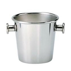 Ettore Sottsass Ice bucket, 1.5 litre, stainless steel