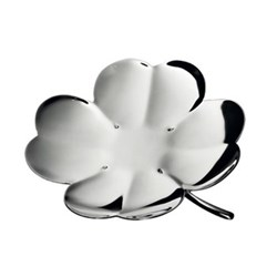 Trefle Clover small bowl, 6cm, silver plated