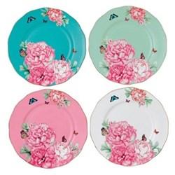 Miranda Kerr Friendship Set 4 accent plates, 20cm, multi