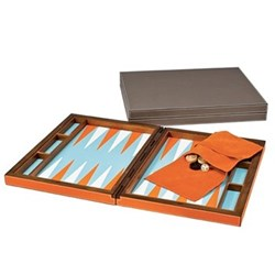 Backgammon set 44 x 70cm (open)