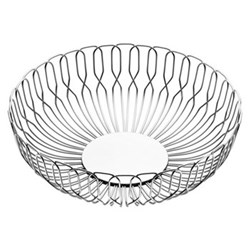 Alfredo by Alfredo Häberli Bread basket large, 26cm, stainless steel
