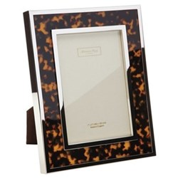 "Tortoise Shell Photograph frame, 5 x 7"""