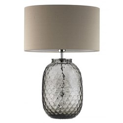Table lamp and oval shade 60cm