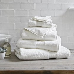Egyptian Cotton White Towels