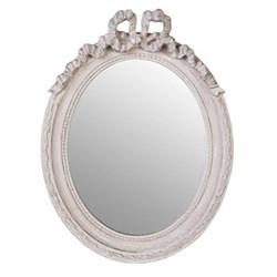 Small oval mirror H35 x W26 x D3cm