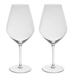 Patrick Guilbaud Pair of Bordeaux glasses