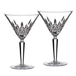 Lismore Pair of cocktail glasses, 20cm, clear