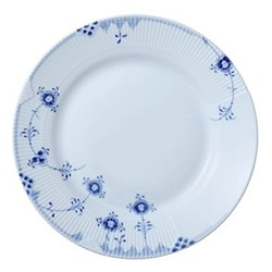 Elements Dessert plate, 22cm, blue