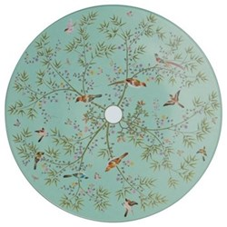 Paradis Buffet plate, 32cm, turquoise