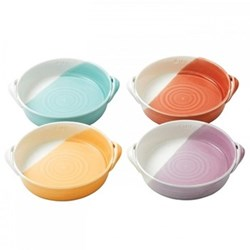 1815 Brights Set of 4 mini serving dishes, 17cm, mixed colours