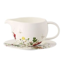 Brilliance - Fleurs Sauvages Sauce boat and stand, 55cl