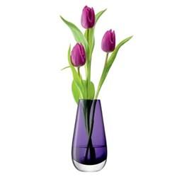 Flower Colour Bud vase, 14cm, violet