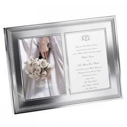 Double invitation frame 5 x 7""