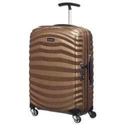 Lite-Shock Spinner suitcase, 55cm, sand