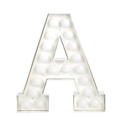 Alphabet lamp 'A' 60cm