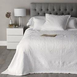 Etienne Bedspread King, 260 x 260cm, white