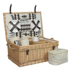 Picnic hamper 6 person 62 x 40 x 29cm