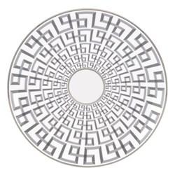 Darius Silver by Brian Gluckstein Accent plate, 22cm
