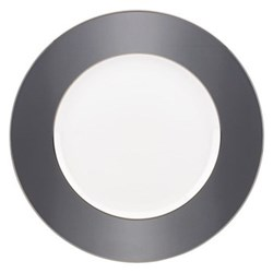 Darius Silver by Brian Gluckstein Dinner plate, 27cm