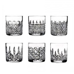 Lismore Connoisseur Set of 6 assorted heritage tumblers