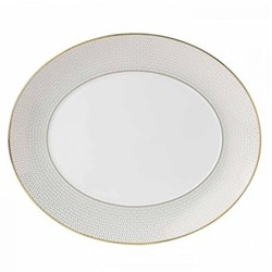 Oval serving platter 33cm