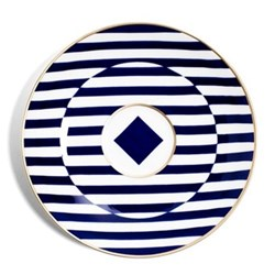 Richard Brendon Meets Patternity Coffee saucer warp, 13cm