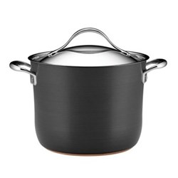 Nouvelle Stockpot, 7.6 litre, copper and aluminium