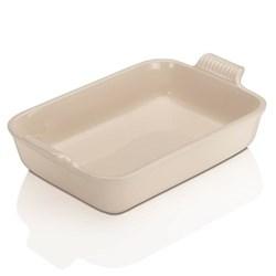 Stoneware - Heritage Rectangular dish, 32 x 28 x 6.5cm - 3.85 litre, almond