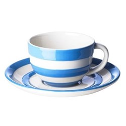 Set of 4 cups and saucers 28cl