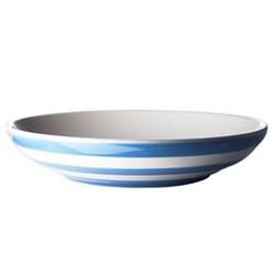Pair of pasta bowls, 24cm, blue