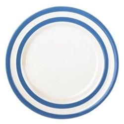 Set of 4 side plates, 17.8cm, blue