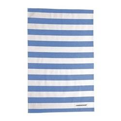 Pair of tea towels, blue cotton