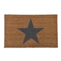 Star Doormat, W65 x D40cm