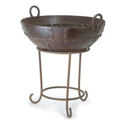 Barbeque/fire pit H66 x W65cm