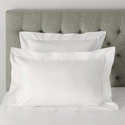 Pimlico Oxford pillowcase, 50 x 75cm, white