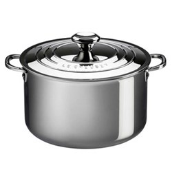 Signature Stockpot with lid, 24cm, stainless steel